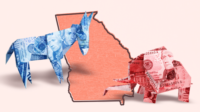 Where Are Georgia's Senate Candidates Getting All That Cash From?