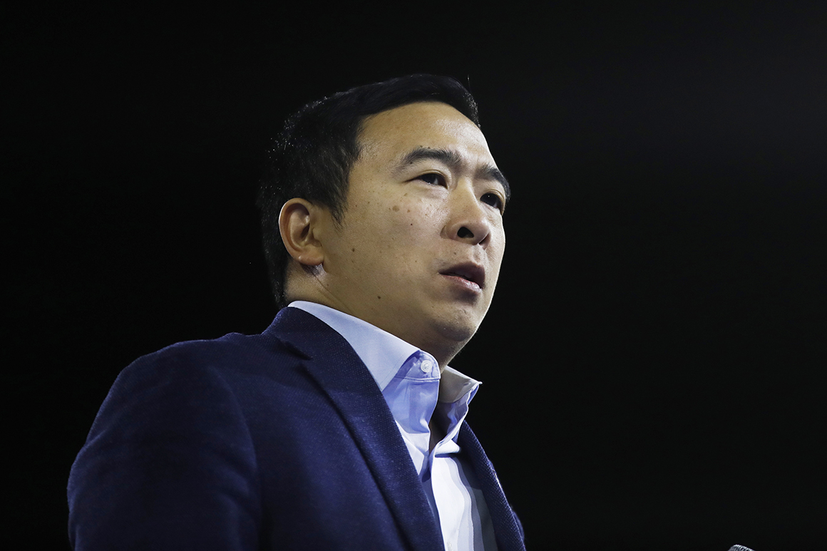Yang files for mayoral campaign account