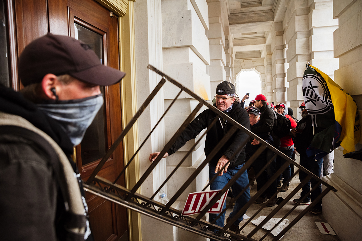 'Inside job': House Dems ask if Capitol rioters had hidden help