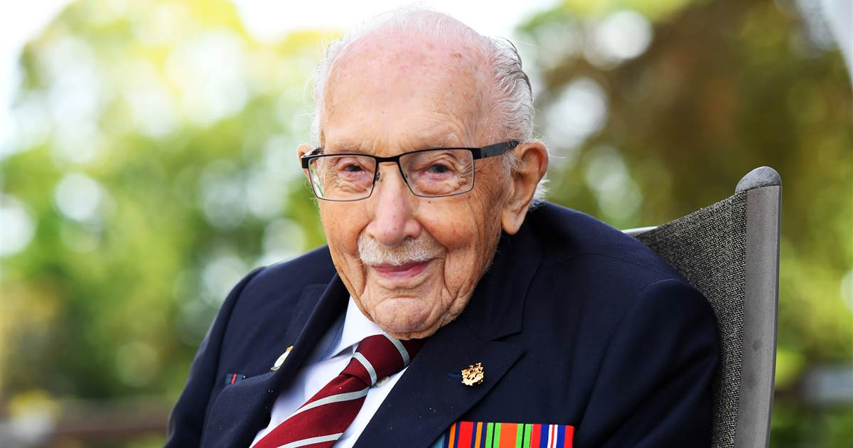 'Captain Tom,' 100-year-old vet who raised millions for U.K. health service, has Covid-19