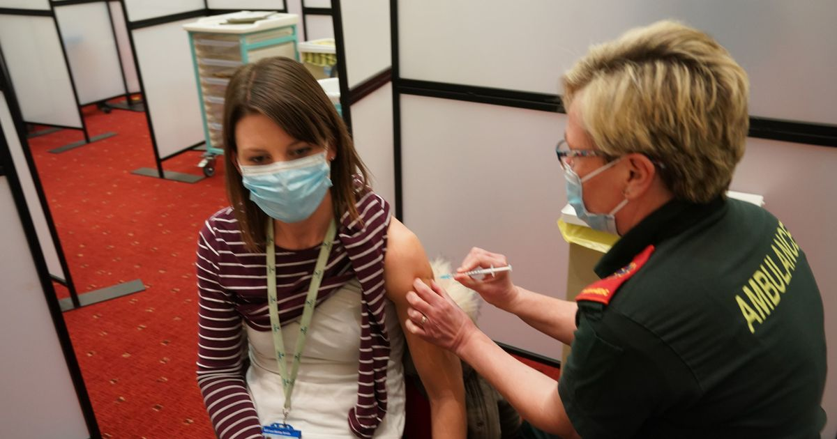 'More than 200,000 people a day' are being vaccinated against Covid