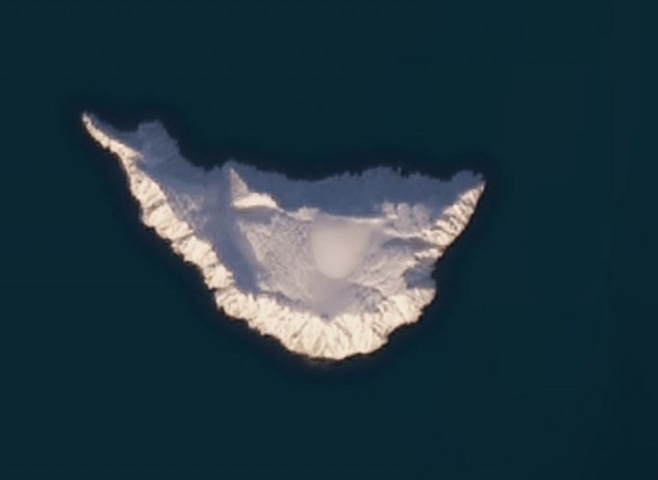 The Story of the Russian Island Hidden in Google's Maps