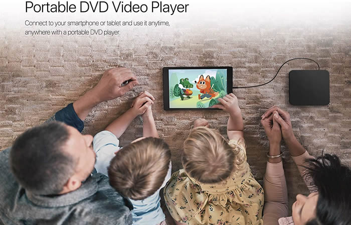 HLDS portableDVD Android Review 2