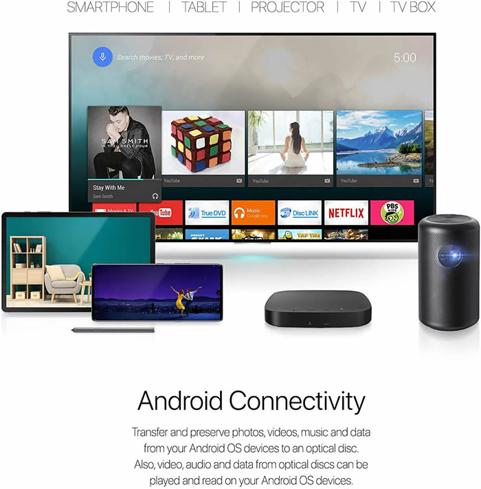 HLDS portableDVD Android Review 1