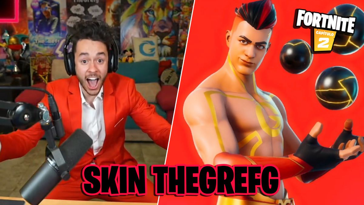 This is the skin of TheGrefg in Fortnite; price, release
