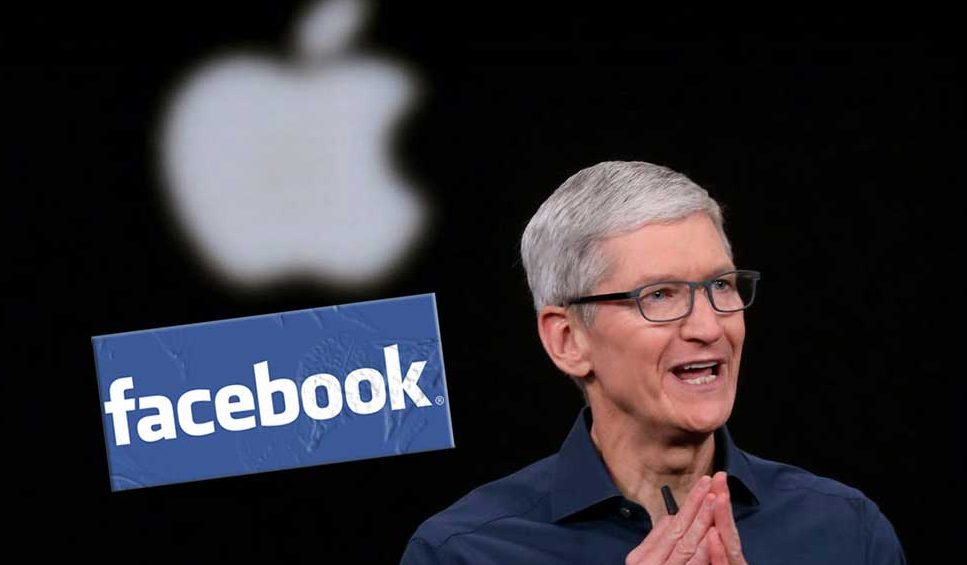 Criticism to Facebook by Apple CEO Tim Cook