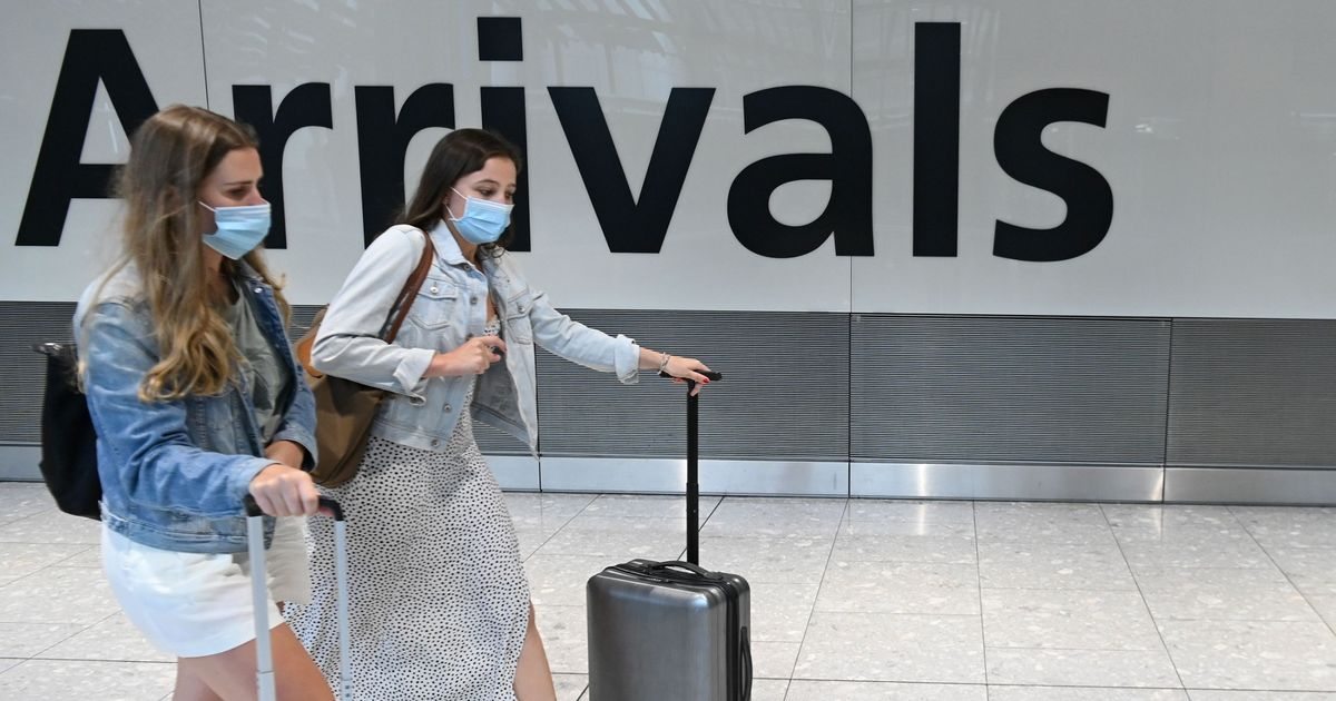 All travel corridors in UK nations will be suspended from 4am on Monday
