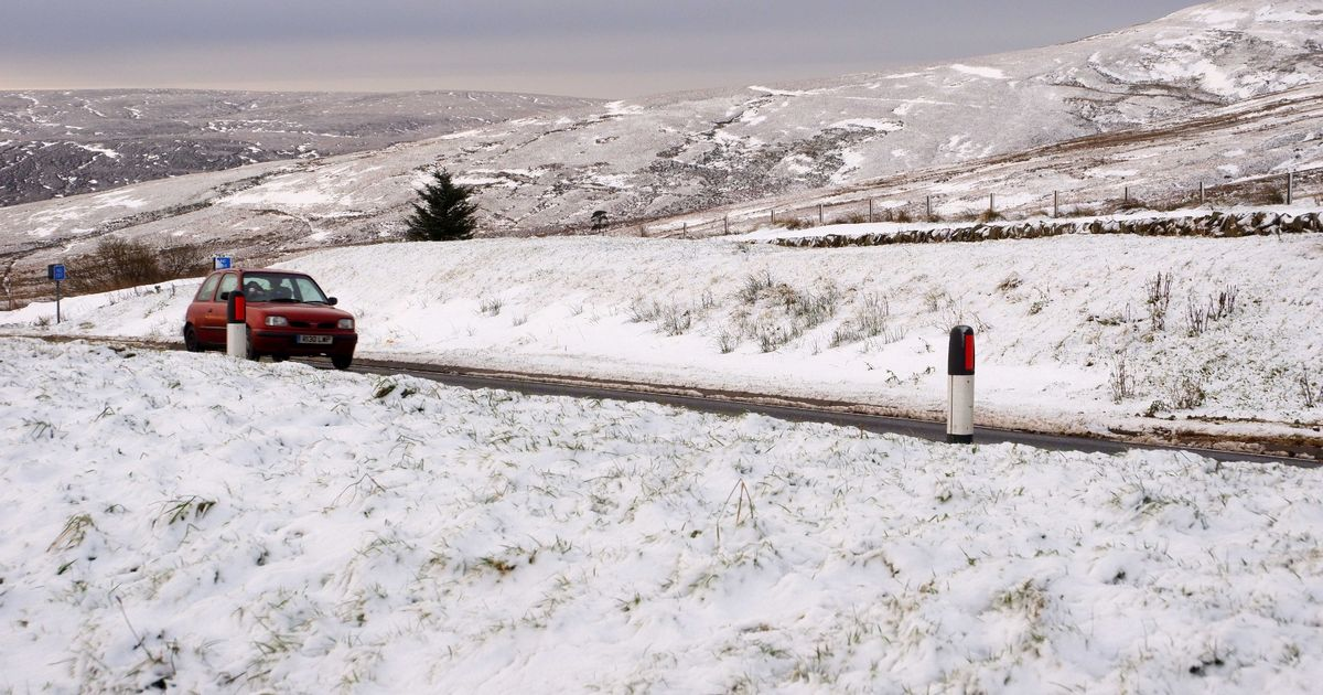 Band of heavy snow set to hit parts of England this weekend