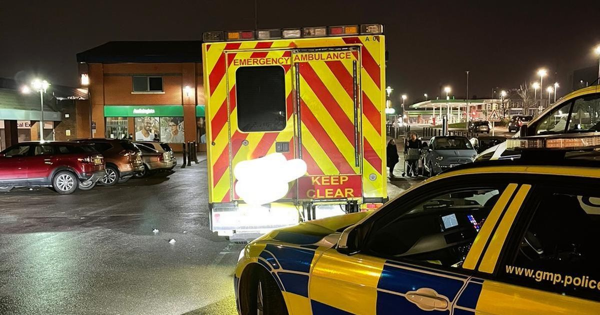 Banned driver rumbled by police after doing Asda shop in secondhand ambulance