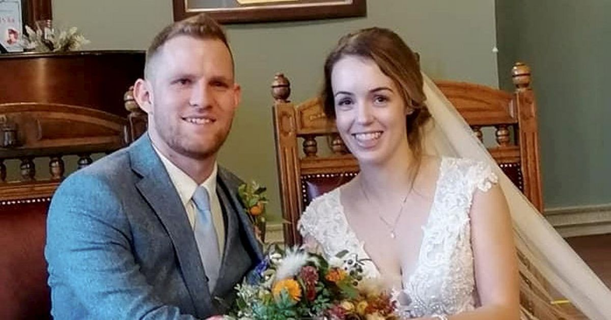 Couple finally tie the knot at 5th attempt this year