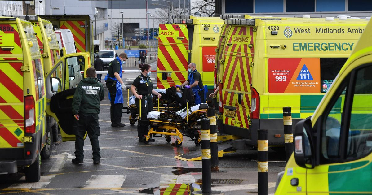Covid-related deaths in UK hospitals soar by 904 in highest surge for months