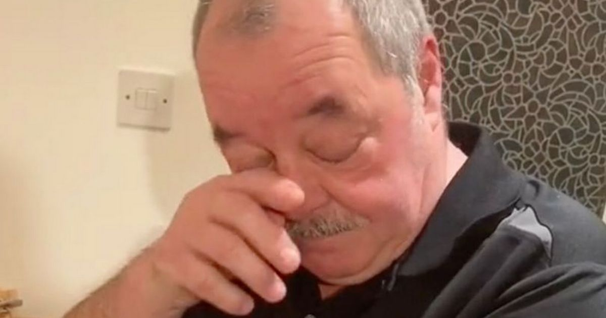 Dad breaks down sobbing as son pays off entire mortgage