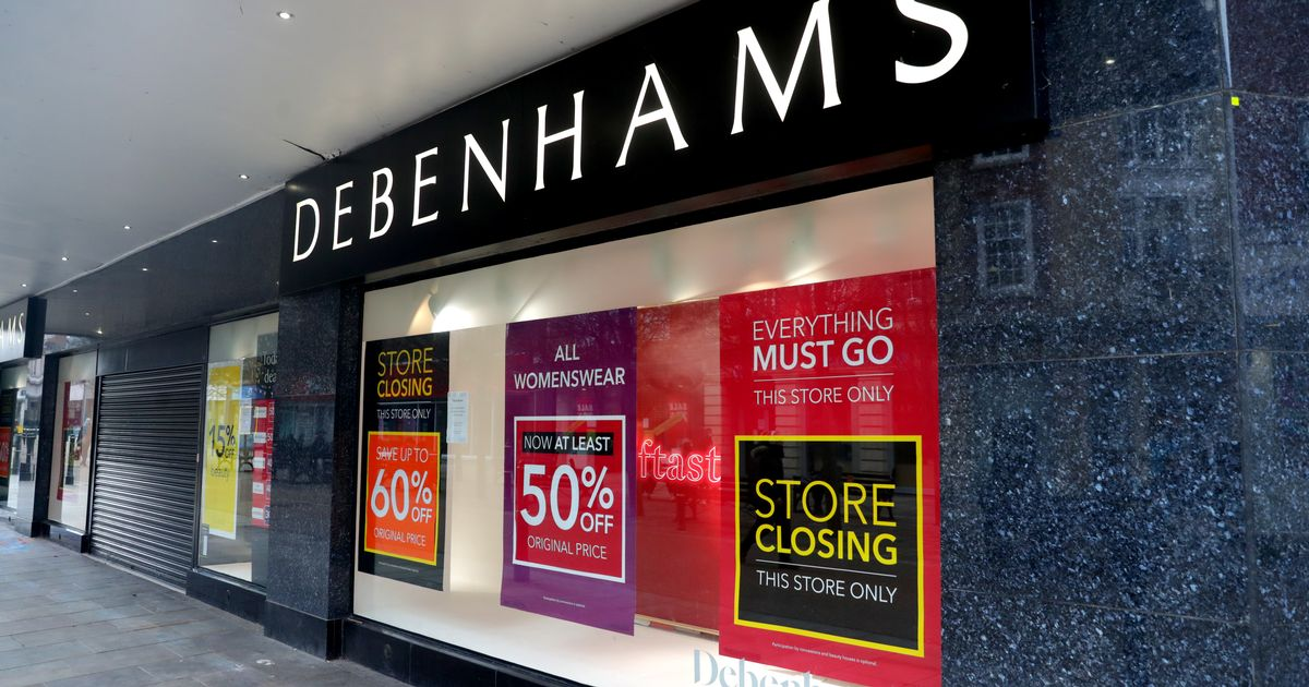 Debenhams to permanently close six shops, with 320 jobs going