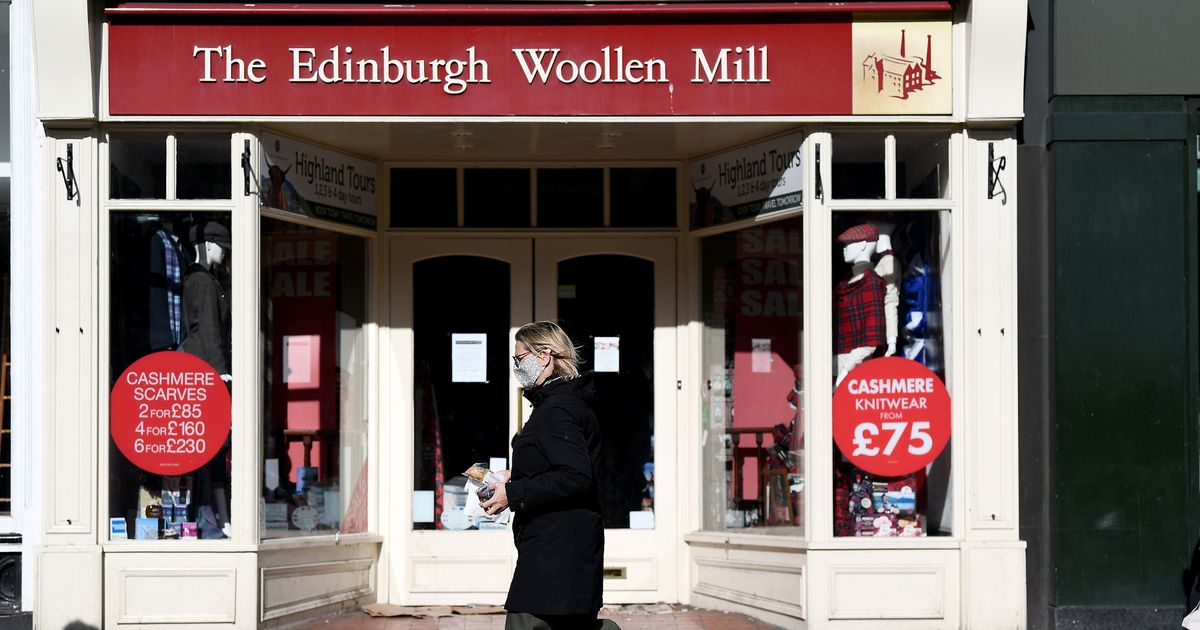 Edinburgh Woollen Mill saved in deal that will keep hundreds in work