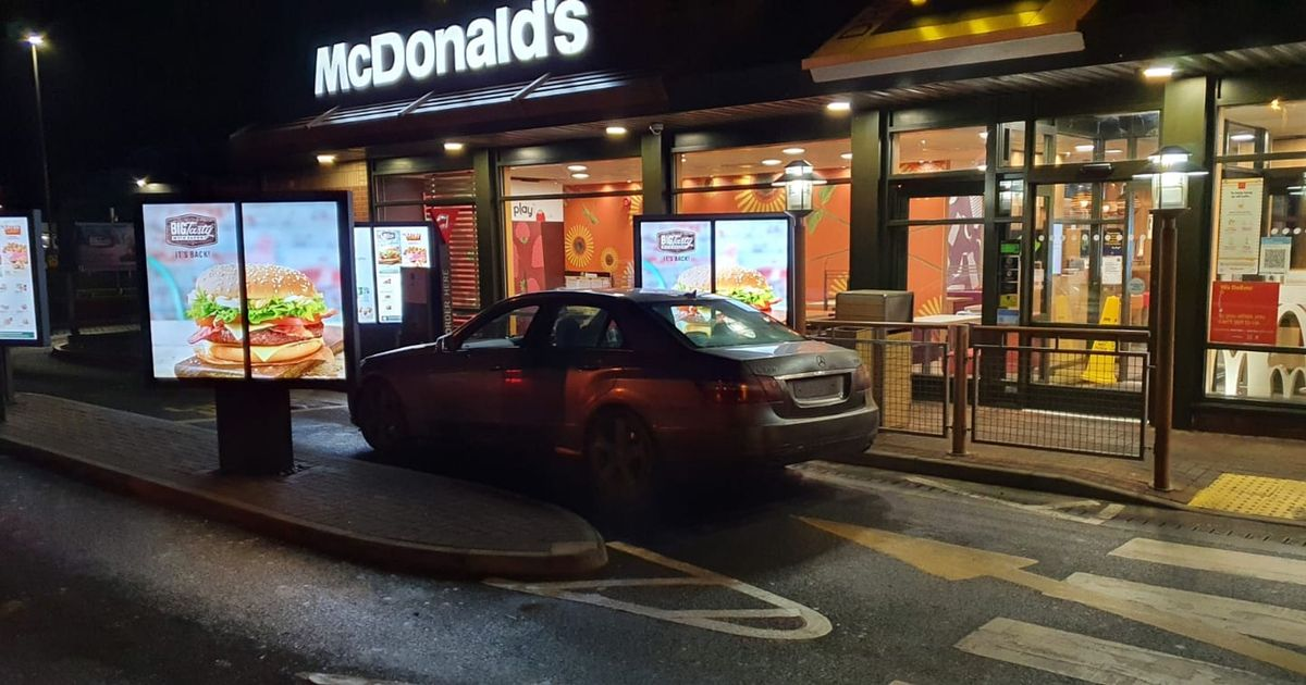 Fines issued after men from 100 miles apart meet at McDonald's