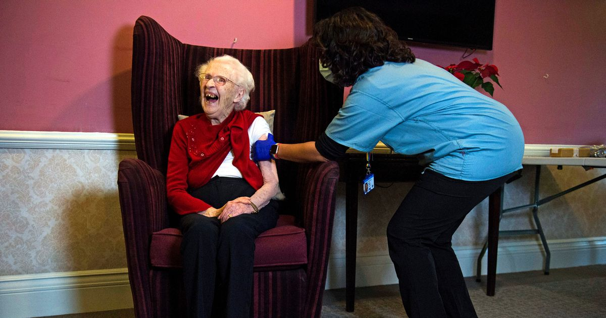 First care home residents given Oxford vaccine as GP rollout begins in England