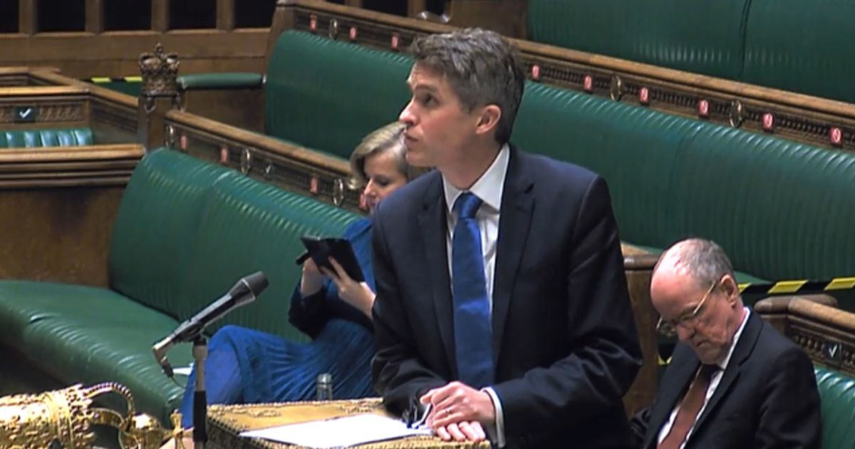 Gavin Williamson to make statement on schools and exams in lockdown
