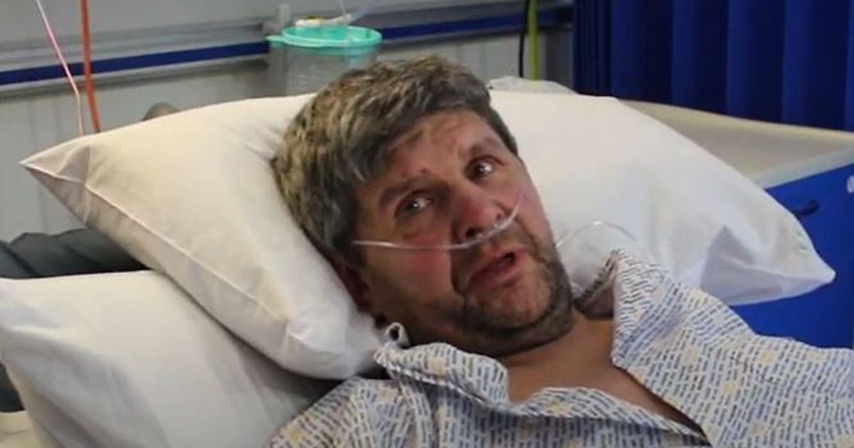 Grandad's plea to the public as he 'fights' for his life in hospital