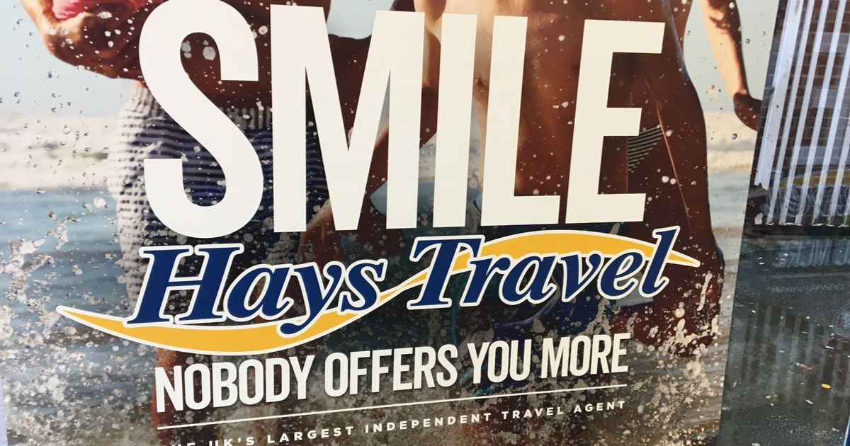 Hays Travel shutting almost 100 shops as lockdowns continue to bite