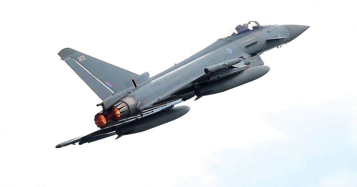 ISIS cells destroyed as RAF fighter jets carry out bombing raid on caves in Iraq