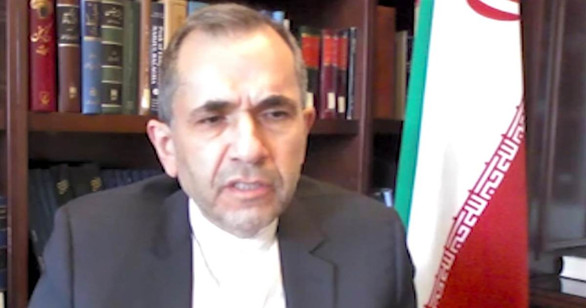 Iranian UN ambassador: 'The ball is in the U.S. court' when it comes to the nuclear deal