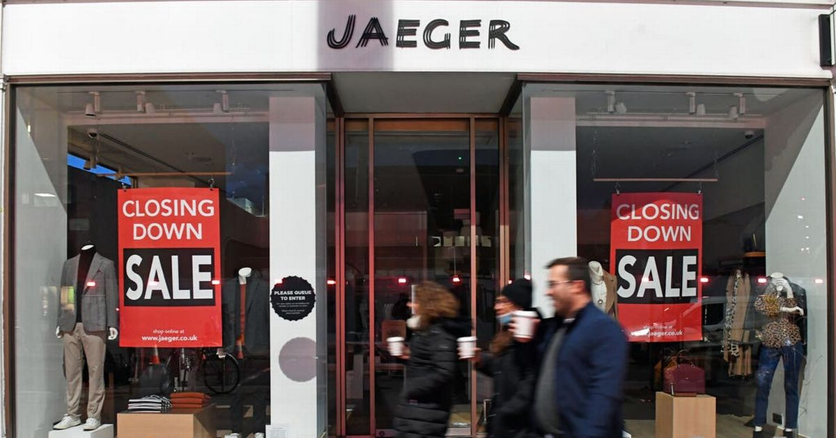 Jaeger to permanently close all shops and axe 233 staff