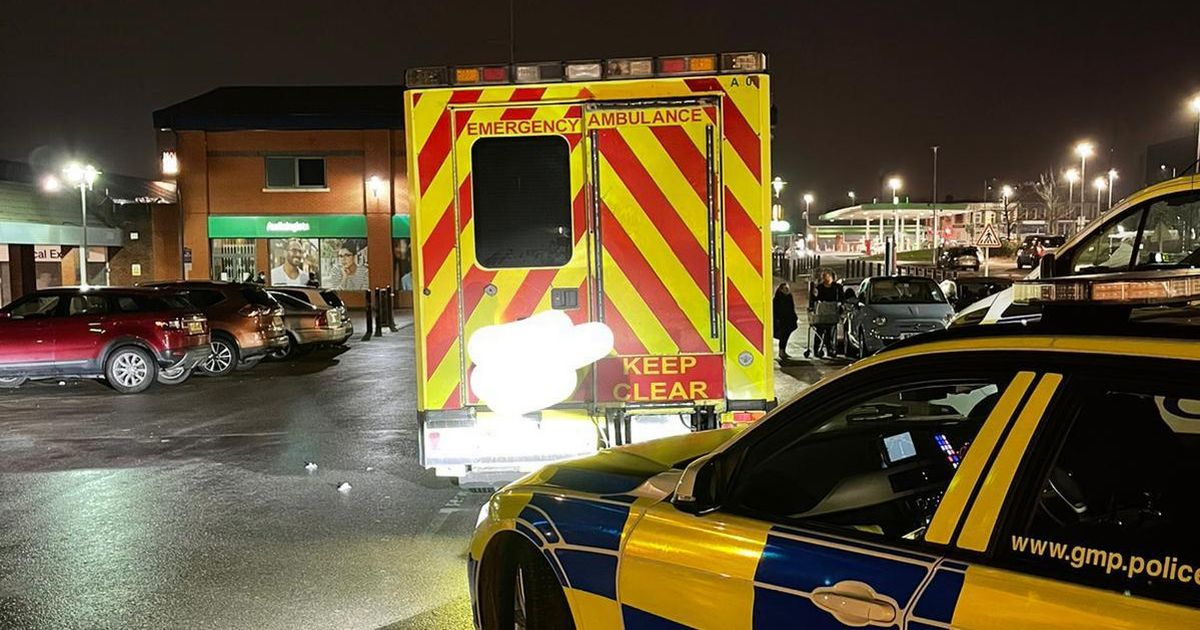 Man arrested after taking family shopping in second-hand ambulance
