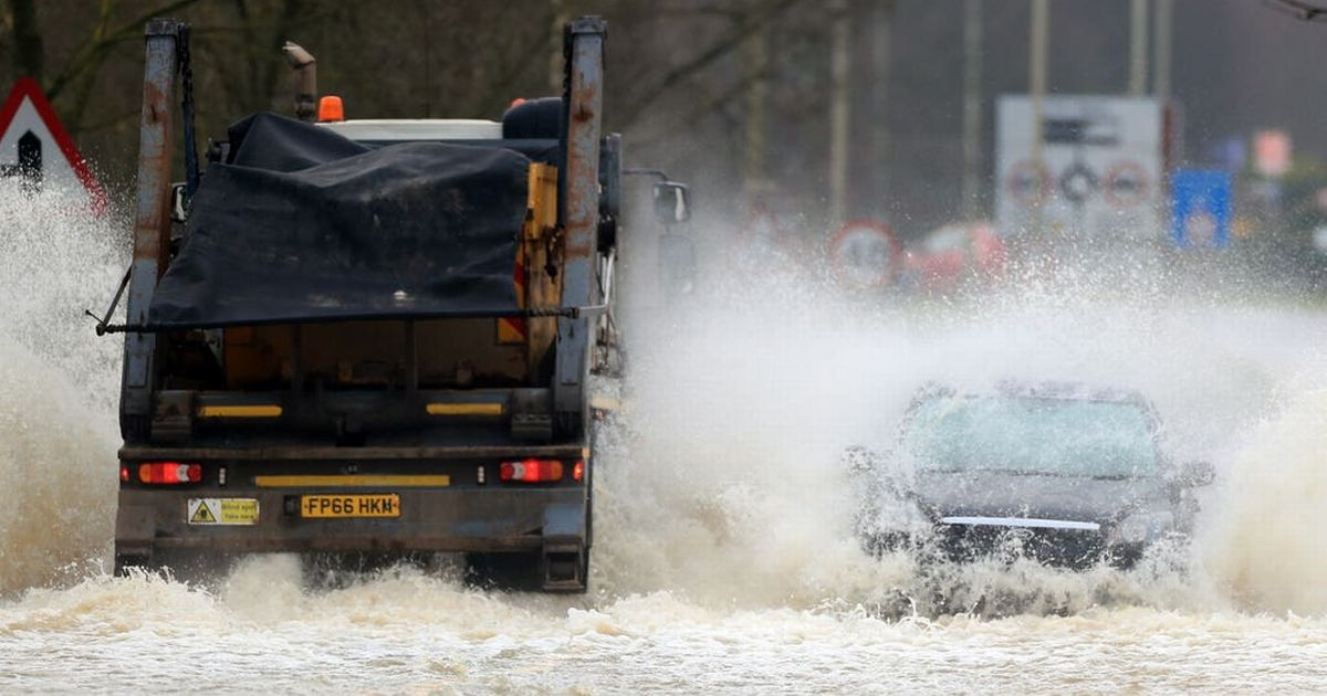 Met Office amber warning of floods, gales and snow in parts of UK