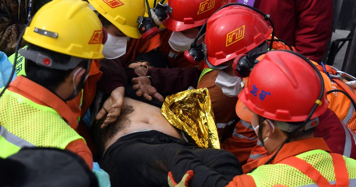 Miracle as 11 men dramatically rescued from gold mine after 14 days underground