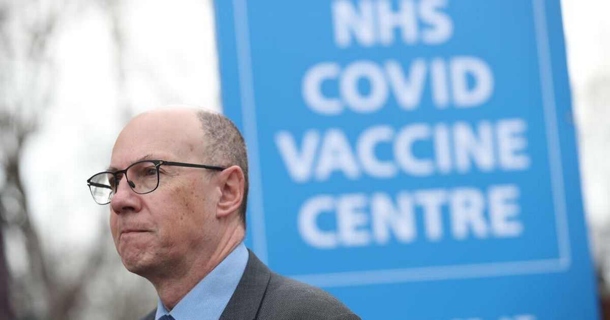 NHS chief says 'of course' there is a vaccine supply shortage