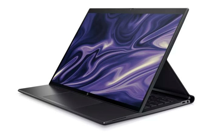 New laptop with Snapdragon processor from HP: Elite Folio