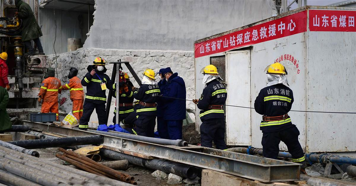 Nine workers found dead in China mine explosion after 11 rescued