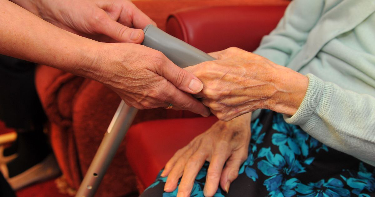 No hugs allowed for families with relatives in care homes during lockdown