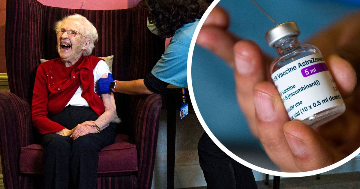 Oxford vaccine rolled out to first care home residents in England