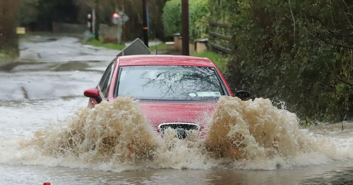 Parts of the UK could see two months' worth of rain in under three days