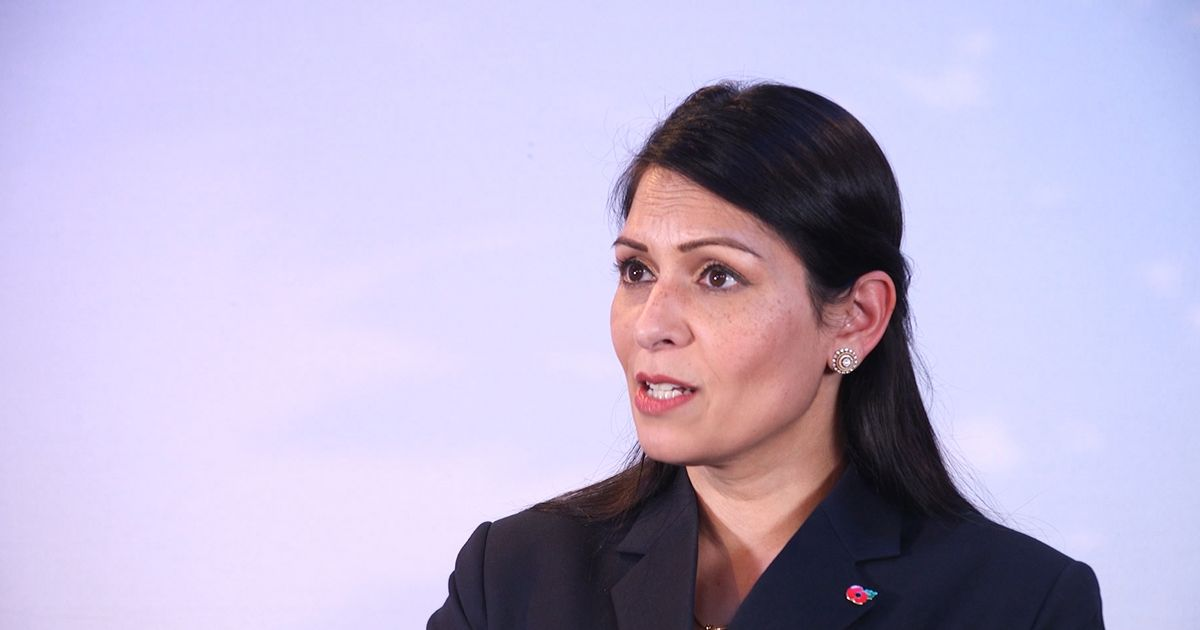 Priti Patel defends 'strong' police enforcement of lockdown rules