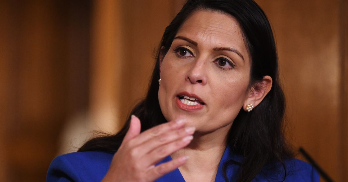 """Priti Patel hits out at influencers who """"show off"""" lockdown trips abroad"""
