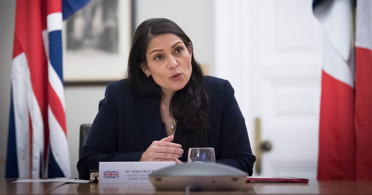 Priti Patel says it's 'too early' to discuss easing Covid restrictions