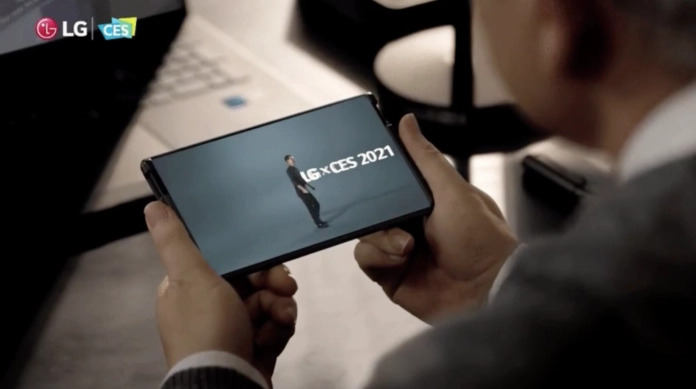 Rollable phone LG Rollable will be released this year
