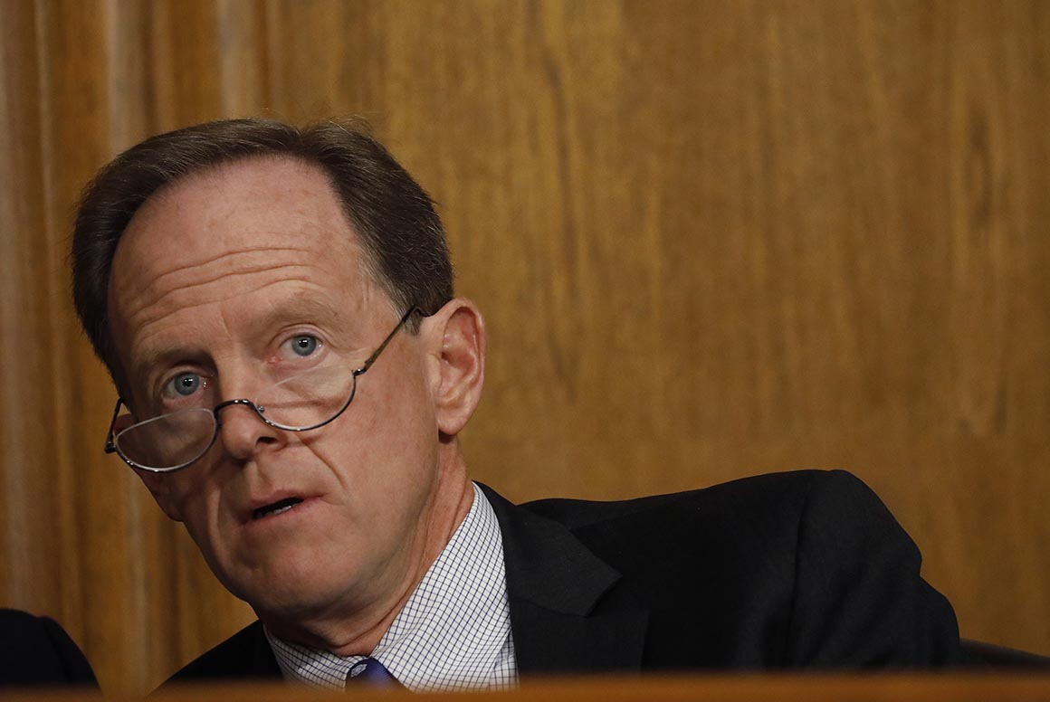 Sen. Toomey: Trump has 'descended into a level of madness'