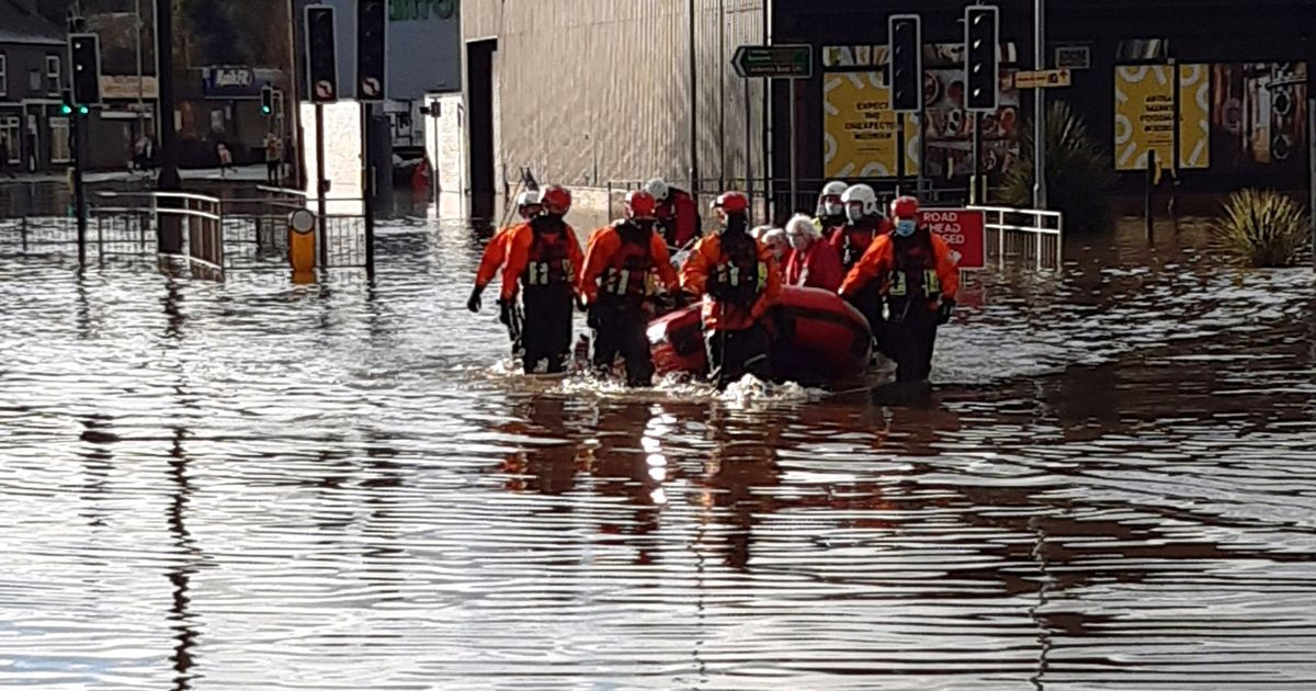 Storm Christoph causes chaos as residents evacuated due to flood fears