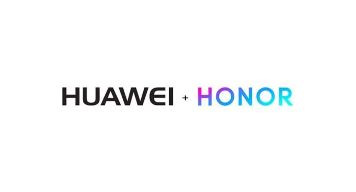 Symbolic step in the Huawei Honor split