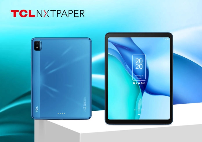 TCL announces two new Android tablets: NXTPAPER