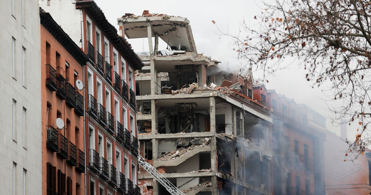 Three dead and 11 injured as huge explosion destroys Catholic building in Madrid
