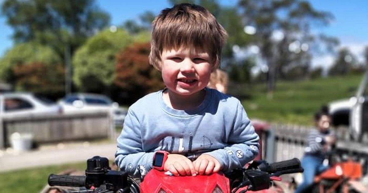 Tragedy as boy, four, killed by rubbish truck as he played outside on his bike