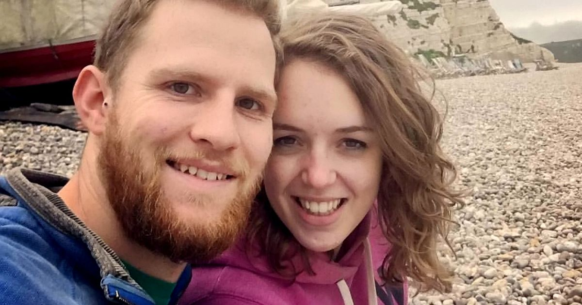 Two paramedics finally tie the knot at 4th attempt