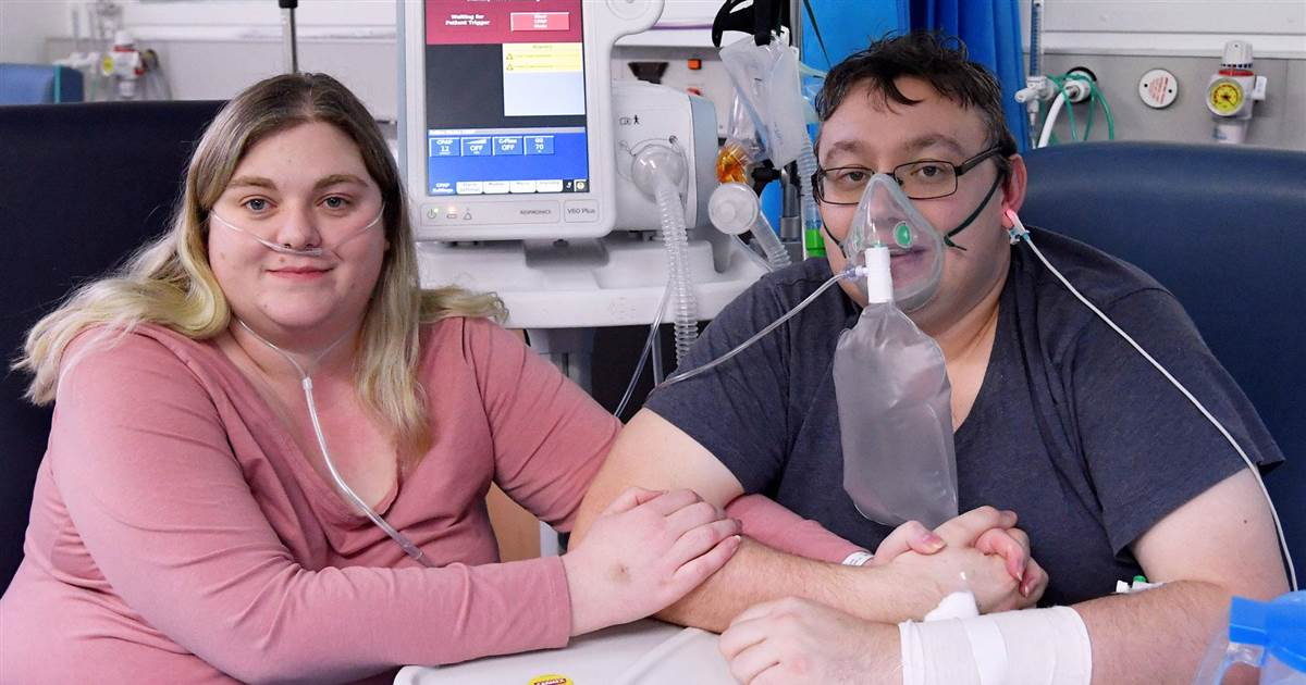 U.K. couple with severe Covid cases marry in hospital