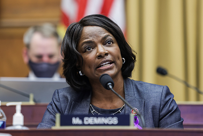 Val Demings 'encouraged' by McConnell's break from Trump