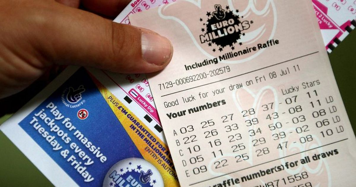 Winning EuroMillions numbers for January 5 2021