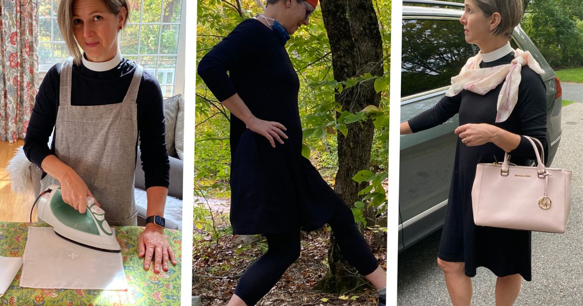 Woman wears same dress every day for 100 days to hit back at 'fast fashion'